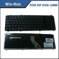 Top sell laptop keyboard for hp dv6 1000 computer accessories keyboard