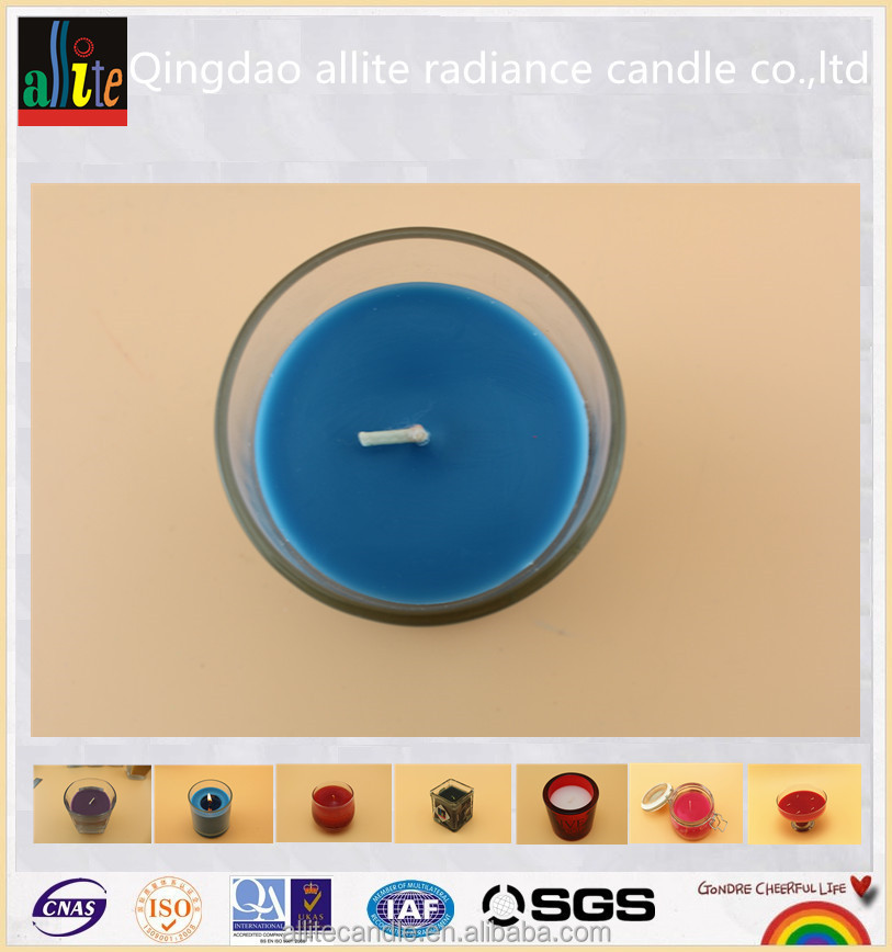 Soy Wax can custom Material and glass jar Shape scented candle wholesale market in mumbai