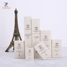 Disposable Personalized eco friendly hotel amenities toiletries set Hot sale hotel guest room amenities products