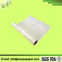virgin wood pulp made top quality baking parchment paper roll for oven