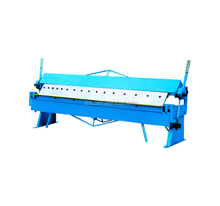 W1.5x1220 Pan and Box Brake, TTMC Manual Plate Folding Machine