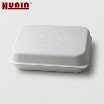 Compostabie Molded Paper Pulp Box Packaging