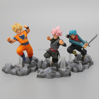 Buy Toys From China High Quality Plastic JP 3d Famous Movie Action Figure Dragon Ball Toys Set For Boy