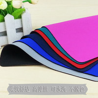 hot sale promotional items advertising colorful waterproof polyester sublimation rubber mouse pad