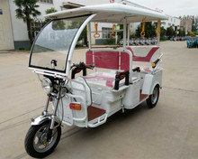 Indian Type Adult Electric Rickshaw tuk tuk for 6 Passengers Taxi for Passenger with MP3