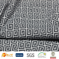 black white plaid fabric nylon waterproof fabric manufacturing sexy lingerie hot