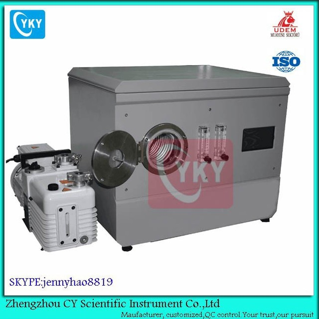 CY-P2LA vacuum natural crystal plasma cleaner with vacuum pump