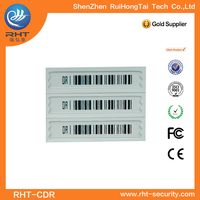 EAS DR 58Khz soft label for supermarket retail barcode label