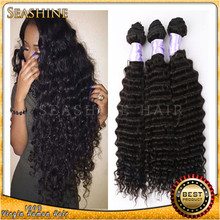 Factory Manufacturer Product Low Price Full Cuticle virgin hair weaving deep curly