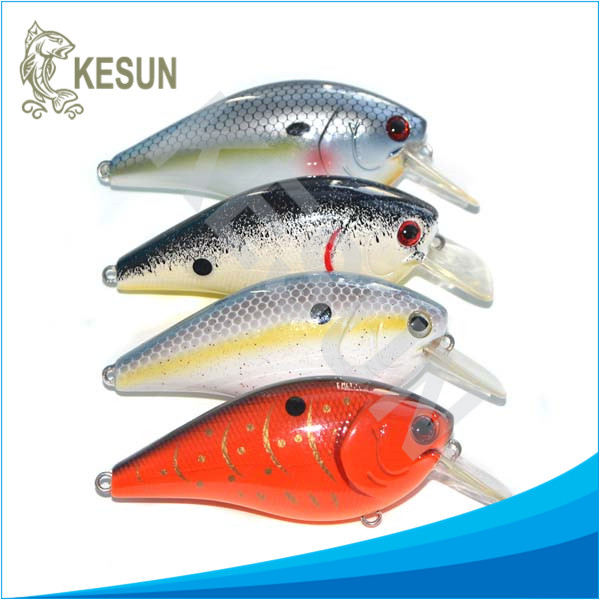 Private label floating micro crankbaits crankbait for bass kesun for fishing shop