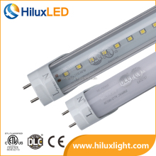 UL DLC 18W LED Tube 4ft/8ft led lights t8 bulbs,one or double ended