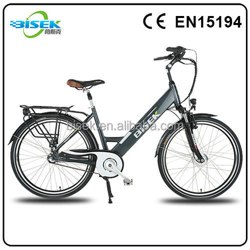 2015 new 250w 36v electric bicycle with alloy seat post