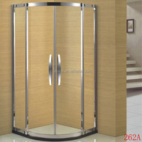 CLASIKAL high quality tempered glass shower cabin,sector design shower room