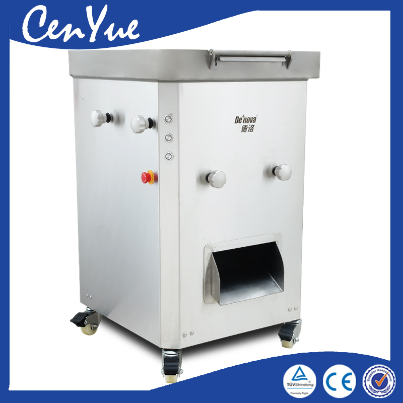 800kg/h commercial CE new 304 stainless steel fresh beef pork meat slice slicer meat cutting cutter machine