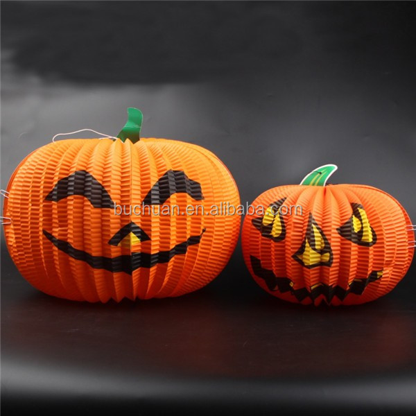 Artificial wholesales Halloween outdoor pumpkins decorative white