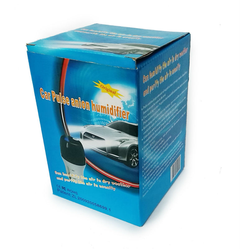 Ionkini 2-in-1 Mini Ultrasonic Car Air Humidifiers JO-638 (3,000,000 pcs/cm3 negative ion)