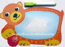 Bear design magnetic memo board / writing board