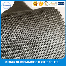 cheap heavy polyester mattress 3d air mesh/sandwich spacer fabric 380gsm 152cm