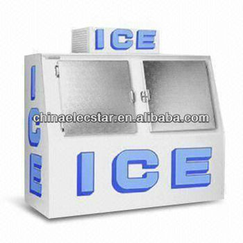 Ice Storage Bin with 60 Cubic Feet Capacity, CE Certified