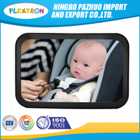 Baby & Mom Rear Facing Back Seat Infant Mirror New Design Big Size Detachable Baby Car Mirror