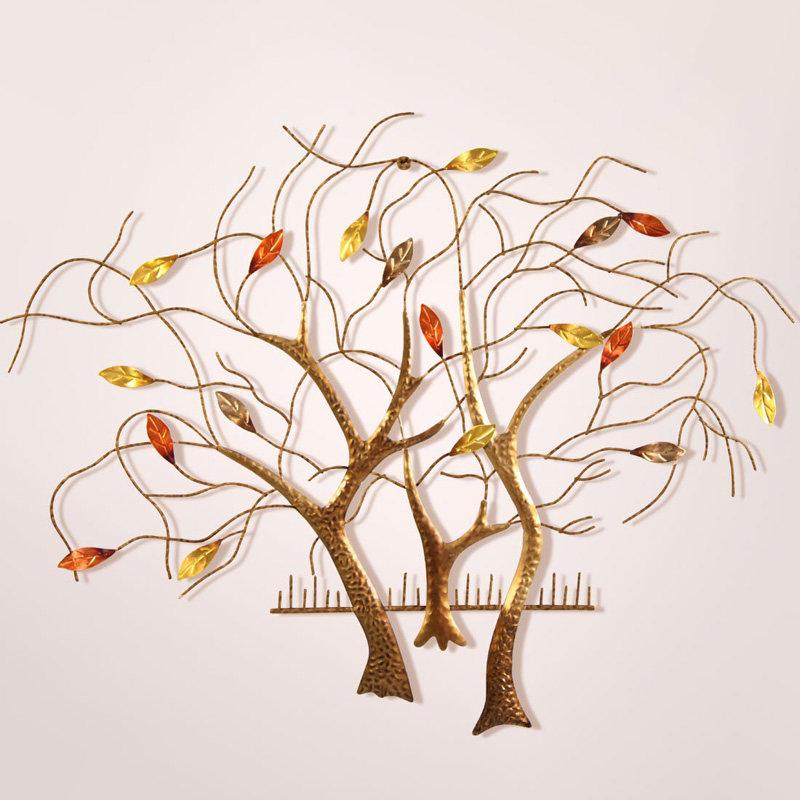 B series wholesale decorative life tree metal wall art Metal wall decor cheap