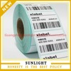 Strong adhesive serial number barcode sticker