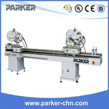 Double Head Mitre Saw For PVC Profile UPVC Window Machine