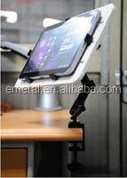 Swivel Cradle Holder Clamp Pole Device for iPad iPad2 tablet touch pad PC