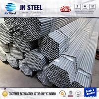 decorative building material used dormitory furniture Q235 galvanized steel tube