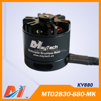 Maytech 2830 880kv rc jet motor for toy quadcopter 4S