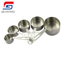 Stainless Steel Long handle measuring spoons set measuring with 5 Piece