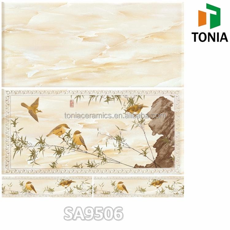 Kitchen Wall Tiles Sri Lanka: 300x600 Chinese Printing Bamboo 3d Ceramic Bathroom