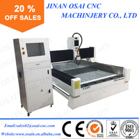 Marble / Granite / Tombstone / Stone CNC Router , Stone Engraving Machine 1325 For Sale