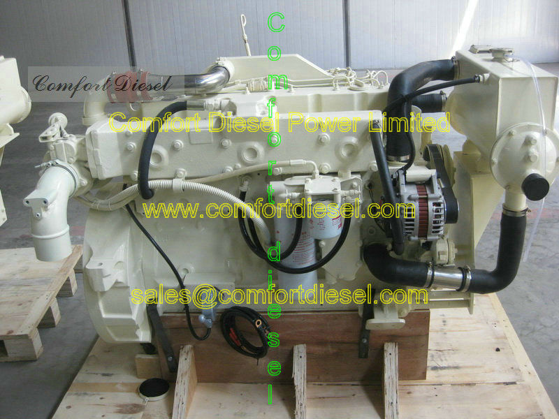 Cummins marine engine 6CTA8.3-M diesel inboard, power range from 200-300HP for fishing boats and small yachts