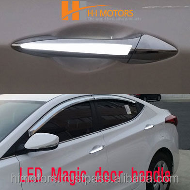 LED Magic door handle LED side day time running light for Kia Sorento R