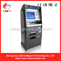 bill acceptor payment terminal ATM kiosk with thermal printer