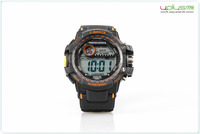 best selling 3ATM dive fashion 7 color light sport watch with backlight