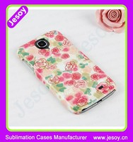 JESOY High Quality Custom Design Cell Phone Protective Cases For Samsung Galaxy S4 3D Phone Cases