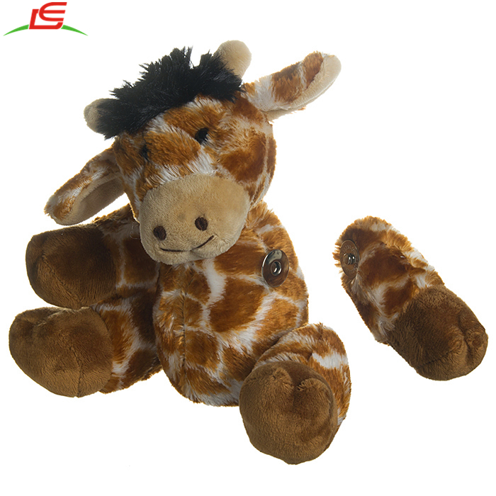 Set Of 6 Cute Detachable Magnetic Parts Arms And Legs Plush Stuffed Animals Toys For Kids