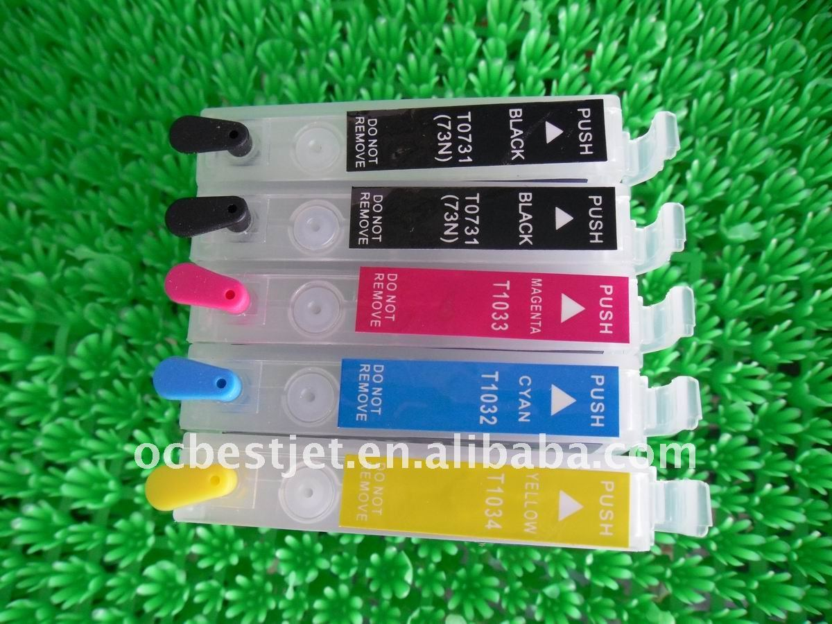 Alibaba Refillable Ink Cartridge for epson T1100
