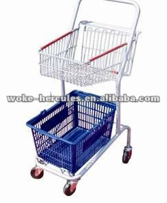 European Grocery Shopping cart Trolley