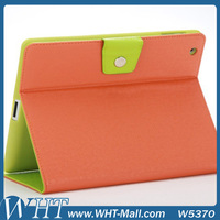Luxury Leather Case for iPad 2/ 3/ 4 with Stand Function and Dual Color Design
