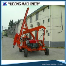 fence post machine/crimped wire mesh weaving machine