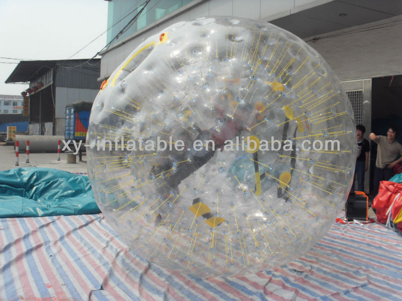 PVC or TPU Material and Hamster Ball Type inflatable zorb ball for kids and adult