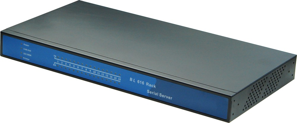 industry Serial device server 16 port serial to ethernet TCP/IP converter support virtual serial