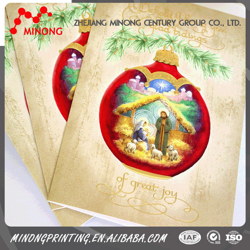 Professional manufacture paper made greeting invitation cards models