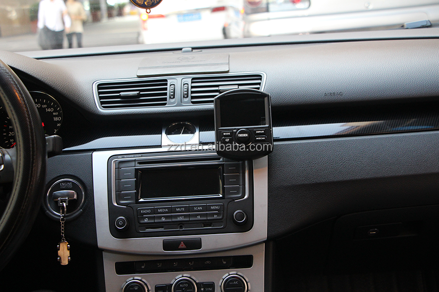 car DAB radio adapter, with mini USB power supply