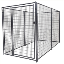 6ft heavy duty black dog kennels large pet cage / dog cages / dog kennel