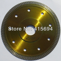 125X10X22.23mm hot pressed special turbo diamond saw blade for tiles, ceramic,granite,marble,bricks and concrete cutting tools