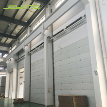 Automatic lifting industrial overhead sectional door for warehouse